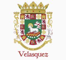 Velasquez Shield of Puerto Rico Kids Tee