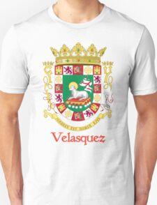Velasquez Shield of Puerto Rico Unisex T-Shirt