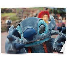 Stitch Wants You Poster