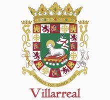 Villarreal Shield of Puerto Rico One Piece - Long Sleeve