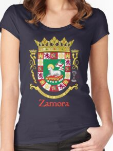 Zamora Shield of Puerto Rico Women's Fitted Scoop T-Shirt