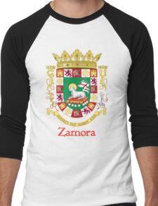 Zamora Shield of Puerto Rico Men's Baseball ¾ T-Shirt