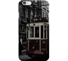 istanbul tram iPhone Case/Skin