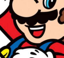 Mario Bubble Sticker