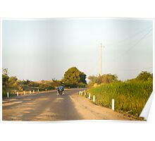 The Roads of Piura Poster
