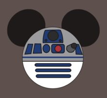 Mickey Mouse dressed as R2D2 by sweetsisters