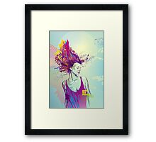 Art is Hard Series: 1/2 Framed Print