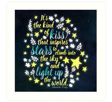 Shatter Me - Stars Art Print