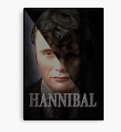 Hannibal - Hannibal and Will  Canvas Print