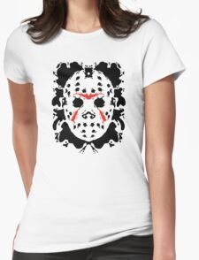 13th Inkblot Womens Fitted T-Shirt