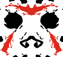 13th Inkblot Sticker