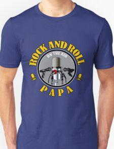 Papa And Rock Music T-Shirt