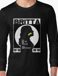 Britta - Meow Meow Beenz Poster Long Sleeve T-Shirt