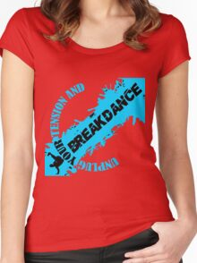Breakdancer Women's Fitted Scoop T-Shirt