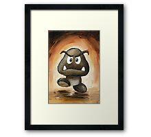 Goomba Framed Print