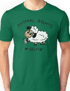 Selfie for Animal Rights Unisex T-Shirt