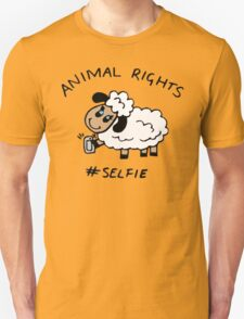 Selfie for Animal Rights T-Shirt