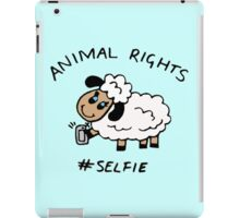 Selfie for Animal Rights iPad Case/Skin