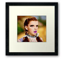 Punk Dorothy Framed Print