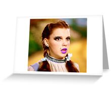 Punk Dorothy Greeting Card