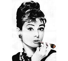 Audrey gone Bad Photographic Print