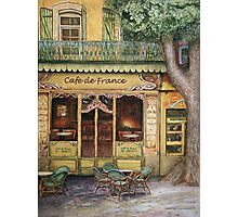The Yellow Cafe Photographic Print