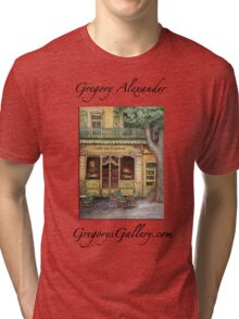 The Yellow Cafe Tri-blend T-Shirt