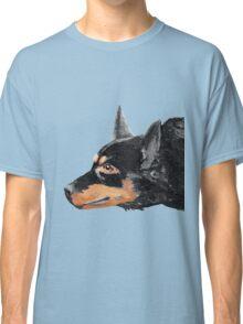 Australian Kelpie Black Portrait Classic T-Shirt