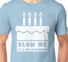Blow Me, It's My Birthday Unisex T-Shirt