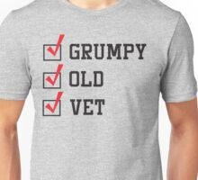 Grumpy Old Vet Unisex T-Shirt