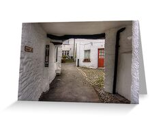 Vicarage Lane Greeting Card