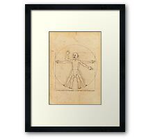 Gollum and his Precious Ring Framed Print
