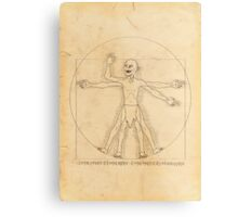 Gollum and his Precious Ring Metal Print