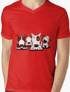 EBT Group Cartoon Design  Mens V-Neck T-Shirt