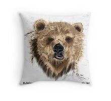 Mister Lips Throw Pillow