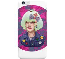 Harajuku Sweetheart Neon Pink Style iPhone Case/Skin
