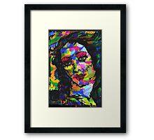 Rainbow Venus. Framed Print