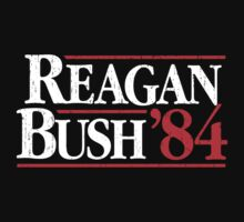 Reagan/Bush '84 Baby Tee