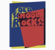 Old School Rocks Pop Art by retrorebirth