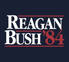 Reagan/Bush '84 Kids Tee