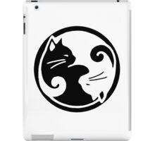Tao of Meow Dark T-Shirt iPad Case/Skin