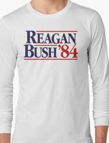 Reagan/Bush '84 Long Sleeve T-Shirt