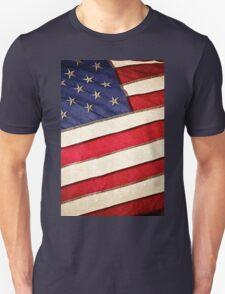 Patriotic American Flag Unisex T-Shirt