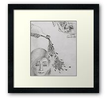 Under the Influence Framed Print