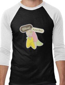 Word, to your Dino' Men's Baseball ¾ T-Shirt