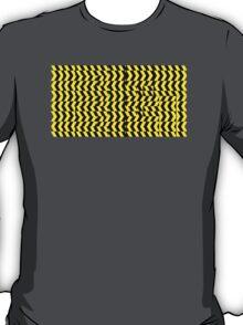 black yellow T-Shirt