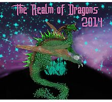 The Realm of Dragons  Photographic Print