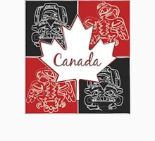 Canada Maple Leaf Haida Art Unisex T-Shirt