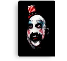 Super Secret Clown Business Canvas Print
