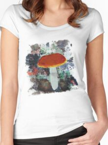 Shroom Women's Fitted Scoop T-Shirt